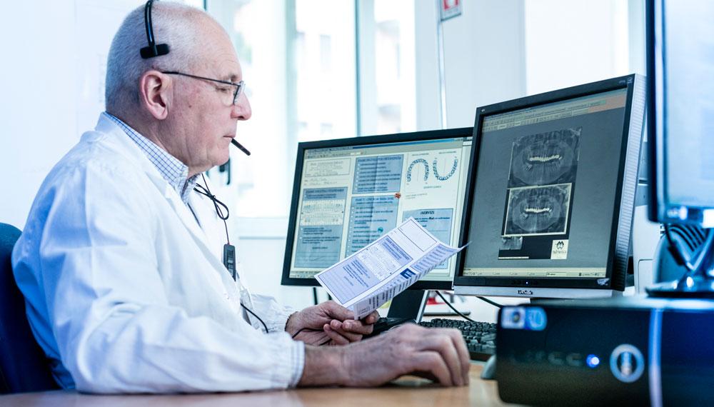 specializzati in radiologia odontoiatrica